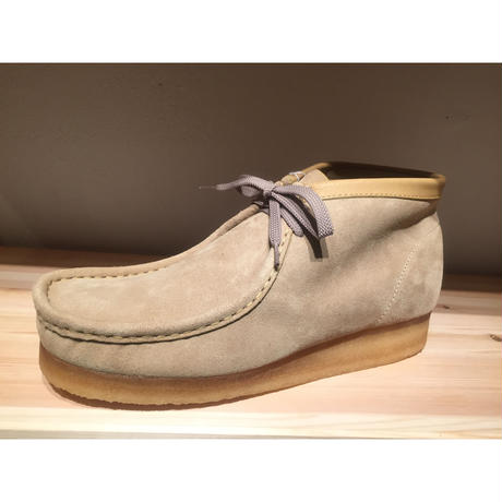 CLARKS WALLABEE BOOT SAND