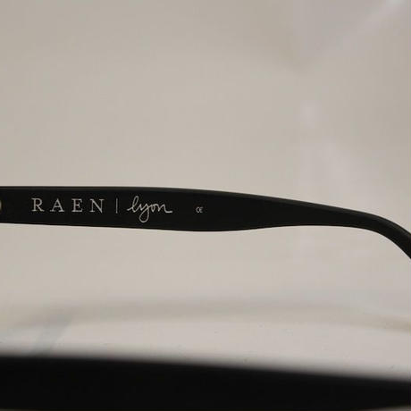 RAEN LYON MATTE BLACK / CLEAR
