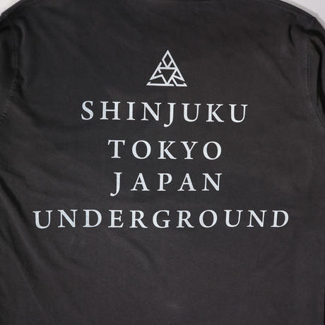 """SHINJUKU  Dyed Long TEE"" VINTAGE BLAIX"