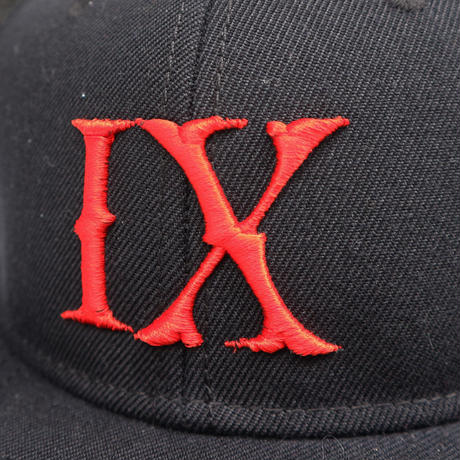"""IX  SHINJUKU"" Snap Back Cap  BLK*RED"