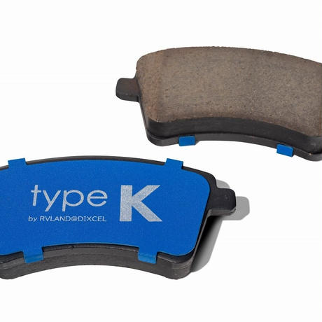 Fブレーキパッド「TYPE K」(DIXCEL製)