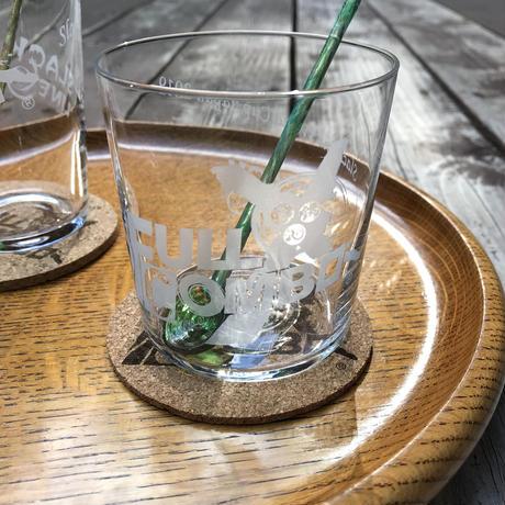 スラックラインW杯ジャパン2019大会グラス(マドラー、コースターセット)