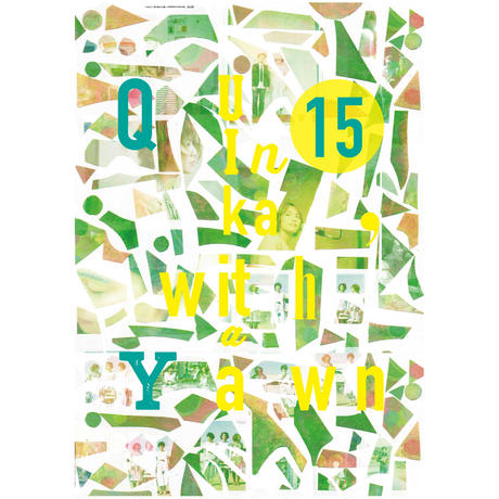QY15 special zine (書き下ろし新曲入りCD付き)