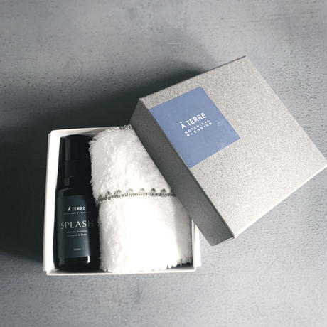 SPLASH BLENDED MIST  & smile cotton towel Gift Box set