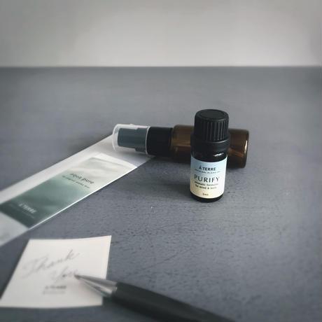 aqua pure for original aroma mist  & TUNE BLENDED OIL Gift set