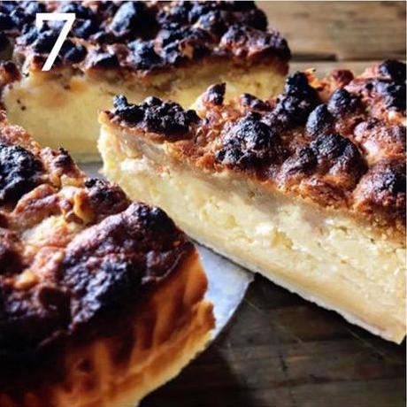 カスタードチーズケーキパイ