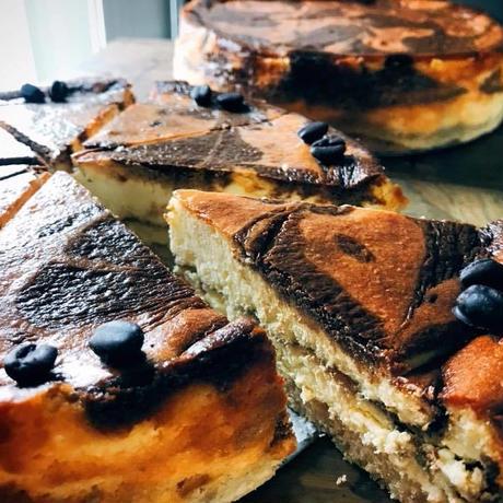 コーヒーマーブルチーズケーキ