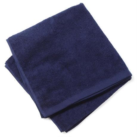[2枚セット]バスタオル tarou800 ネイビー