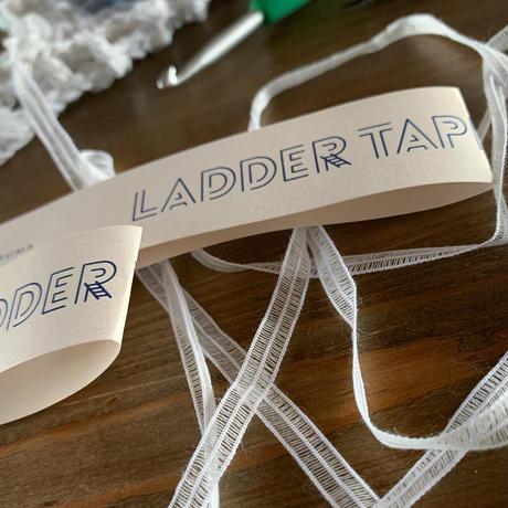 送料込み ラダーテープで編むグリッド模様のメッシュバッグ -印刷済み編み図