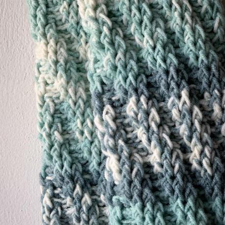 送料込み かぎ針で編むスパイラルソックス -印刷済み編み図のみ