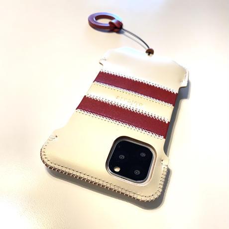 【iPhone 11 Pro】ボーダージャケット