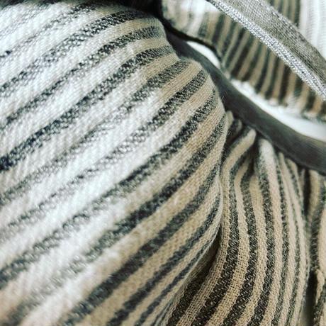【aiboの洋服】高密度リネンツイルのワンピース