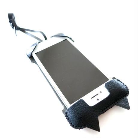【1点物】iPhone SE cj neco dot /オイルバケッタレザー