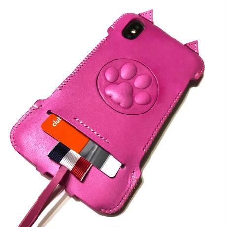 【1点物】abicaseXRWJ/iPhoneX用スペシャル猫ジャケット