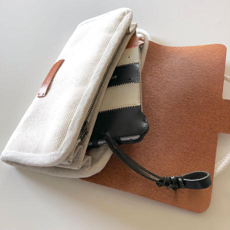 【1点物】abicaseDUCK Wallet?Bag?  ダック&レザー