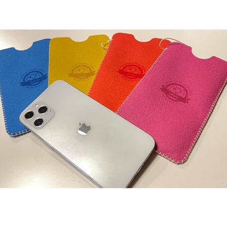 【受注制作】iPhone12 Pro Max フェルトスリーブケース