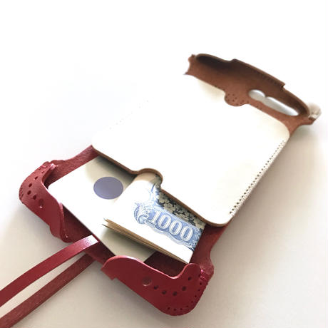 【1点物】abicase8Plus wj(iPhone8Plus用)ウォレットジャケット