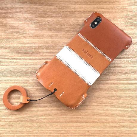 【iPhone XS Max】ボーダージャケット