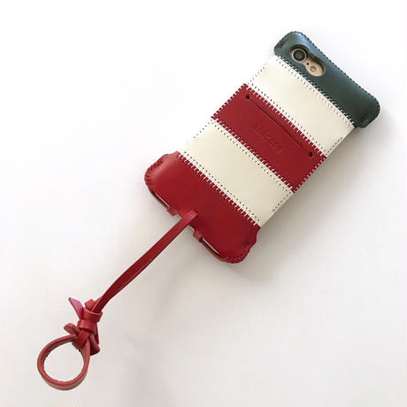 iPhone7/8/SE2020 イタリアカラーウォレットジャケット