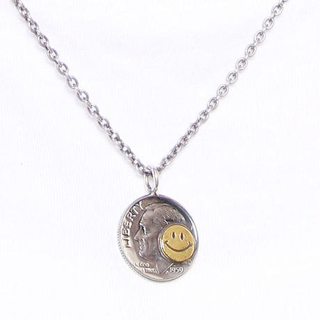 NORTH WORKS ノースワークス / 10cent BRASS SMILE PENDANT / N-302
