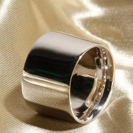 Losau ロサウ / Flat wide ring / lo-r006
