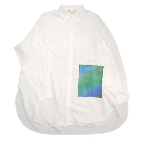 【全2色】JieDa ジエダ / PRINTED LONG SHIRT プリントロングシャツ / Jie-20S-SH02