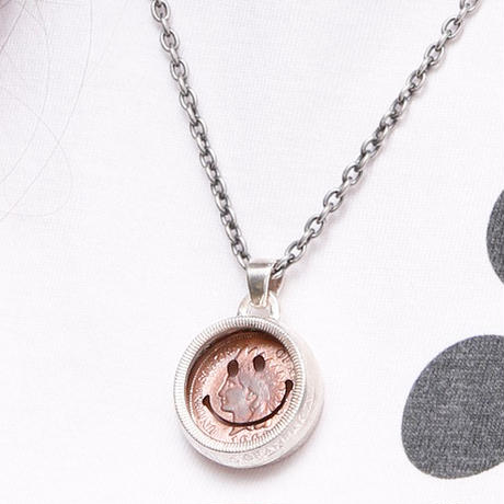 NORTH WORKS ノースワークス / PENNY SMILE 25cent TAMB OURINE PENDANT / N-249