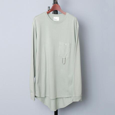 【全3色】scair スケアー / BACK SHIRT L/S TEE バックシャツ切替ロングスリーブTシャツ / 2001SC-C002