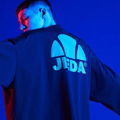 【全3色】JieDa ジエダ / ellesse LOGO T-SHIRT エレッセコラボバックロゴビッグTEE / EM09350JD