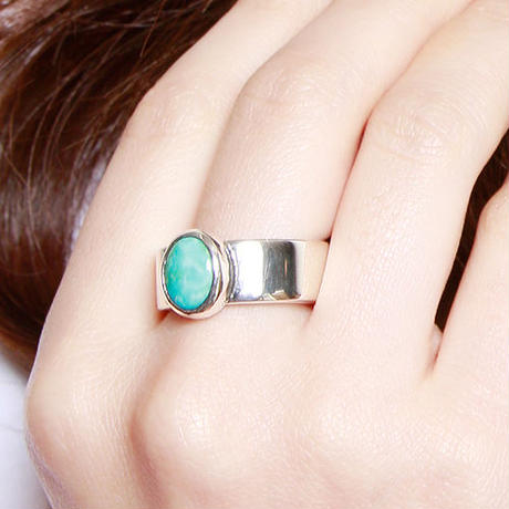 NORTH WORKS ノースワークス / 900Silver narrow TQ Ring 2 / W-028