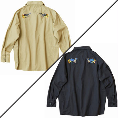AlexanderLeeChang アレキサンダーリーチャン / SEO-L ARMY SHIRTS 背負えるアーミーシャツ / AC021903