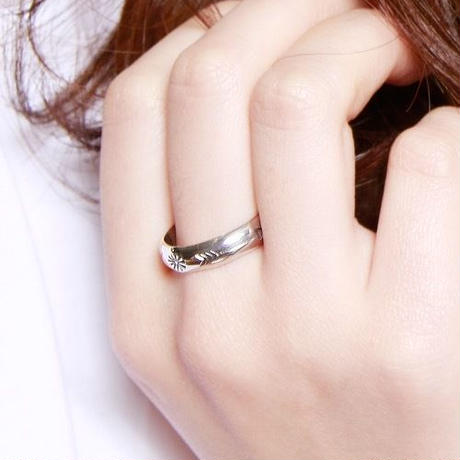 NORTH WORKS ノースワークス / 900Silver Stamp Ring 5 / W-024
