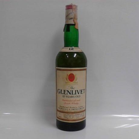グレンリベット12年アンブレンデッド The GLENLIVET 12y 43% 750ml Old