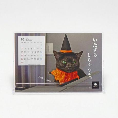 2021年版 オリジナル猫スタッフカレンダー