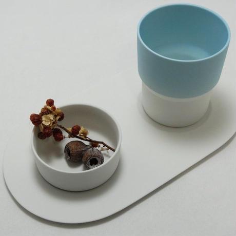 """1616/arita japan  S&B """"Colour Porcelain"""" マグ Blue"""