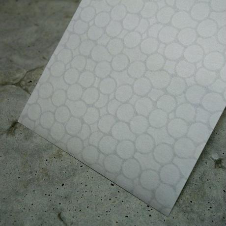 3120 レターペーパースリム(一筆箋) ホワイト/バブル