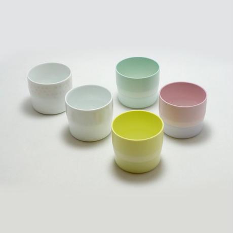 "1616/arita japan  S&B ""Colour Porcelain"" エスプレッソ Light Pink"