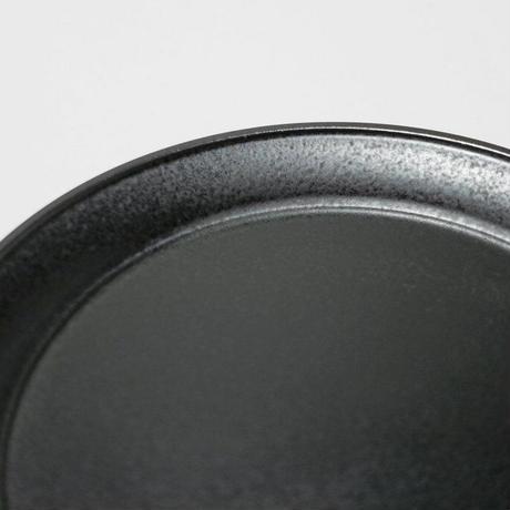 深山/miyama plue プレート 15cm 鉄くろ釉