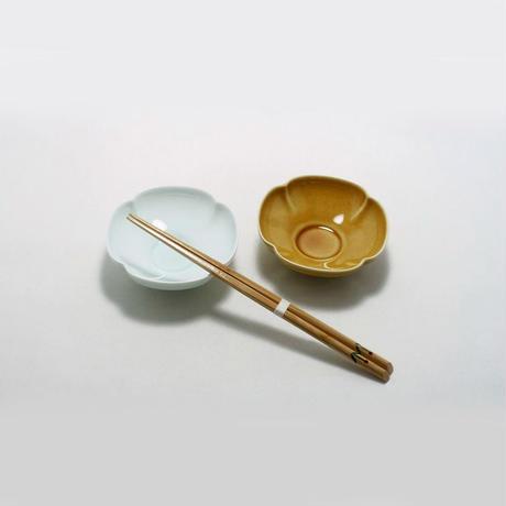 瑞々 木瓜鉢3.5寸 うす飴