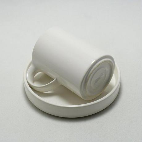 モデラート ハイカップ&ソーサー ホワイト[ceramic japan]