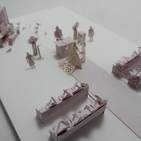 テラダモケイ 結婚式・チャペル編 1/100建築模型用添景セット No.33