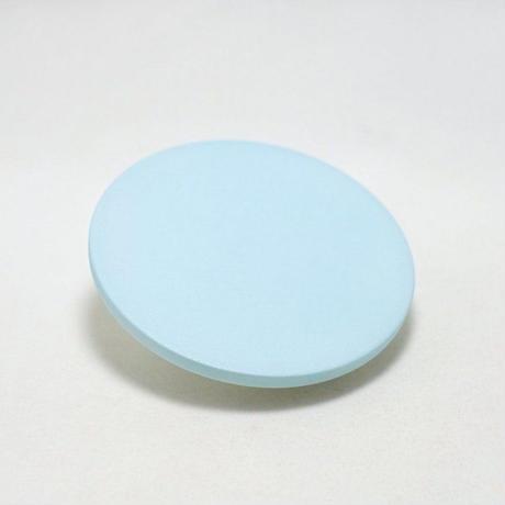 "1616/arita japan  S&B ""Colour Porcelain"" Coaster LightBlue"
