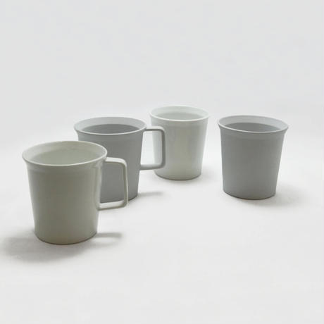 "1616/arita japan TY "" Standard"" Mug Handle Gray"