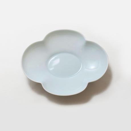 瑞々 木瓜長鉢7寸 青白