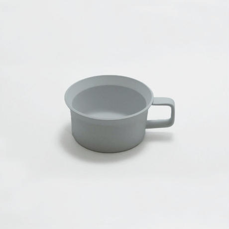"1616/arita japan TY "" Standard"" Tea Cup Handle  Gray"