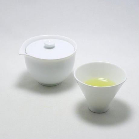 深山/miyama 宝瓶急須 白磁釉