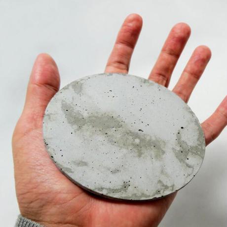 [mortar/Pull Push Products.] FLOORWALL Circle Φ100mm natural