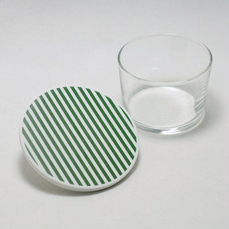 "1616/arita japan  S&B ""Colour Porcelain"" Coaster Stripe"