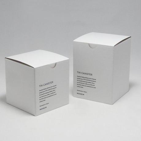 MOHEIM TIN CANISTER (Sサイズ / バーガンディ)