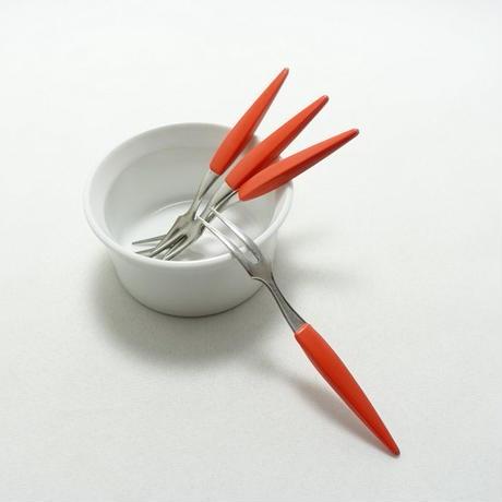 新潟燕三条のヒメフォーク(1本) オレンジ